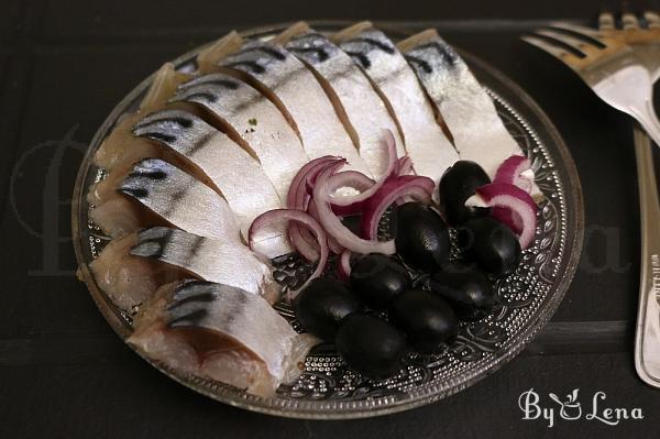 Easy Pickled Mackerel or Herring