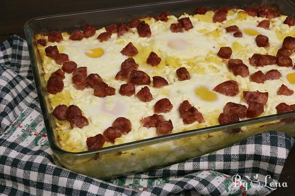 Layered Polenta Casserole, Or Shut Up And Eat!