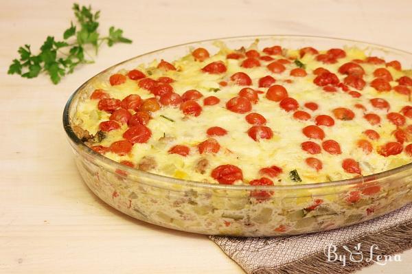 Meat Zucchini Casserole
