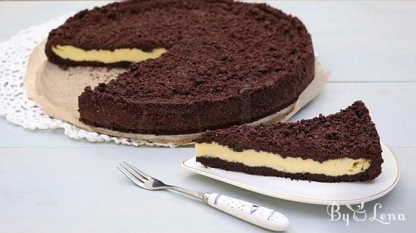 No Knead Chocolate Farmers Cheese Cake
