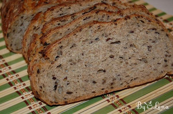 Flavoured Seeded Sourdough Bread