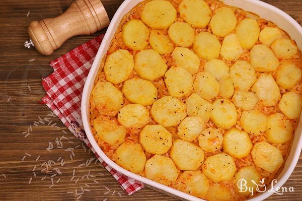 Potato Pilaf