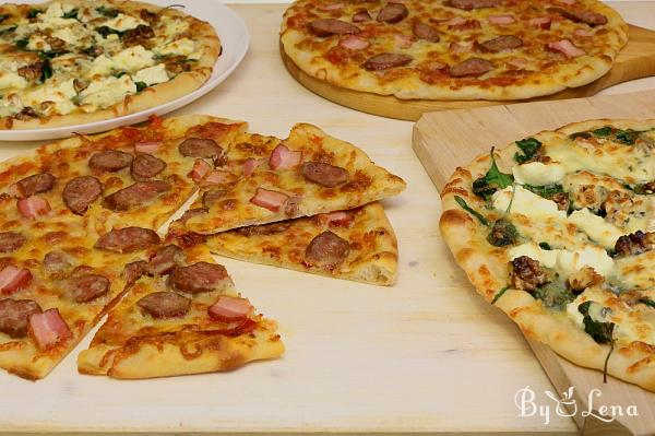 Sourdough Pizza, No Yeast