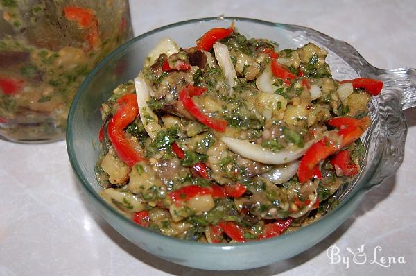 Spicy Eggplant and Vegetable Salad