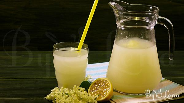 Wild Fermented Elderflower Soda