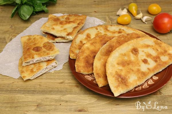 Cheburek with Meat or Cheese
