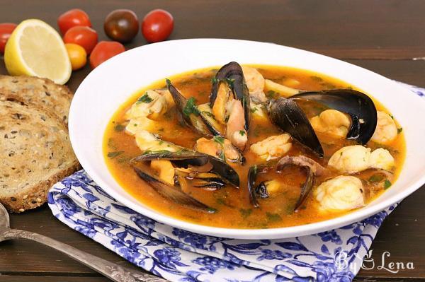 Seafood Soup or Italian Zuppa di Pesce
