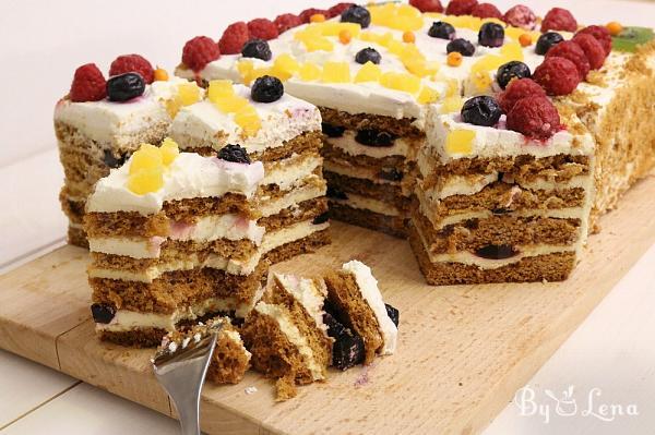 Easy Russian Honey Cake