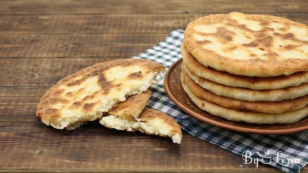 Easy Feta Fried Bread