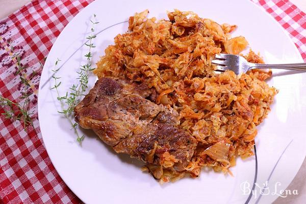 Roasted Pork with Sauerkraut