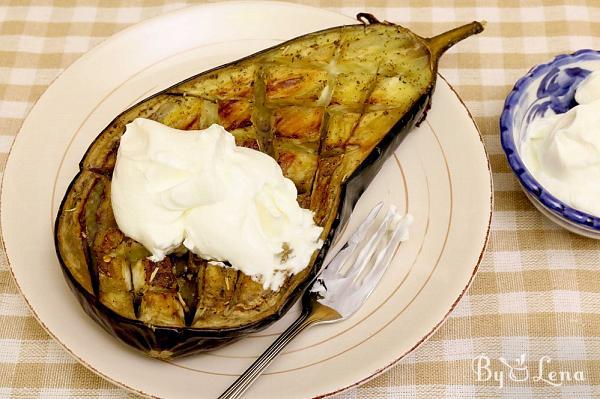 'Heavenly' Oven-Roasted Eggplants