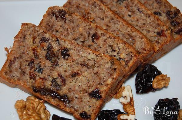 Healthy Oatmeal Prune Bread