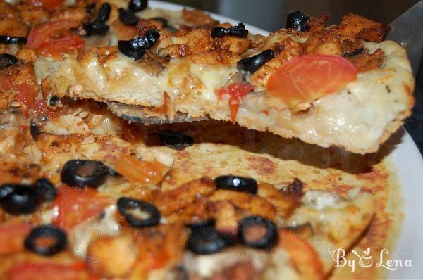 Chicken and Mushroom Pizza Recipe