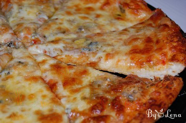 Pizza Quattro Formaggi (Four Cheese Pizza Recipe)