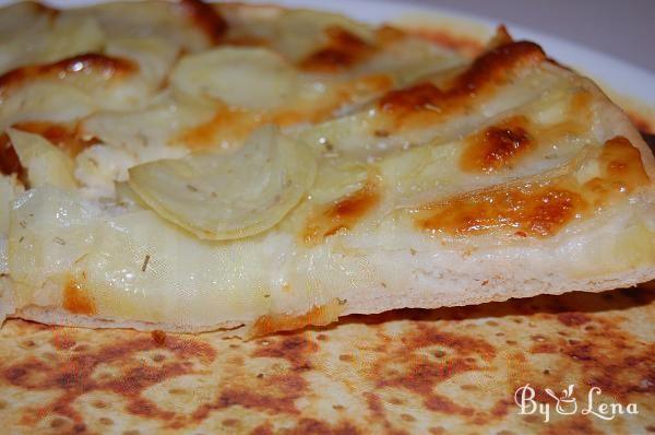 Pizza Bianca (or Potato Pizza)