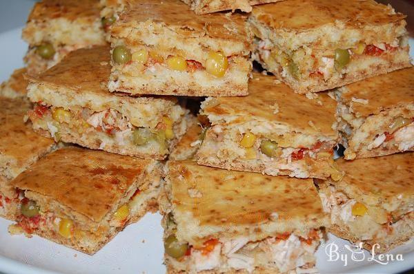 Chicken, Sweet Corn and Pea Brazilian Pie