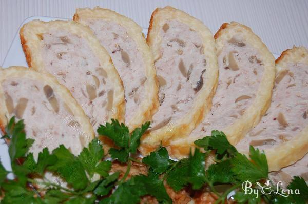 Chicken and Cheese Roulade