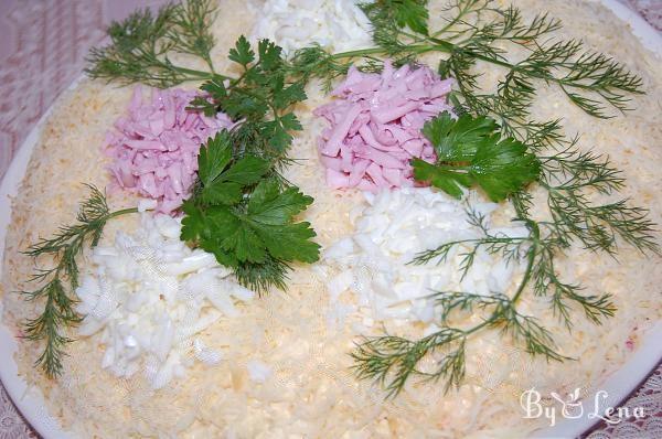 Layered Fish Salad